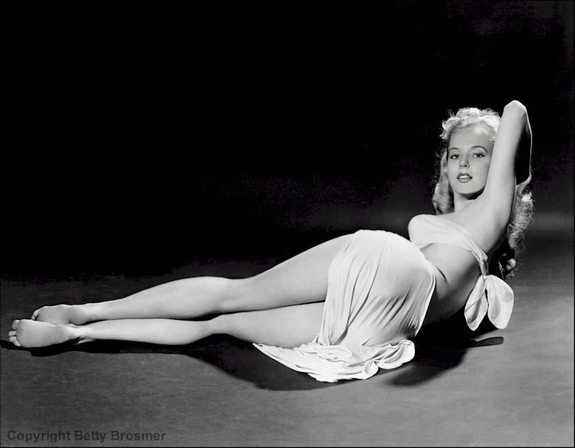 Betty Brosmer Perfect Hourglass Figure
